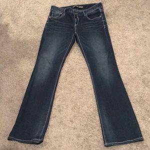 Dark express jeans